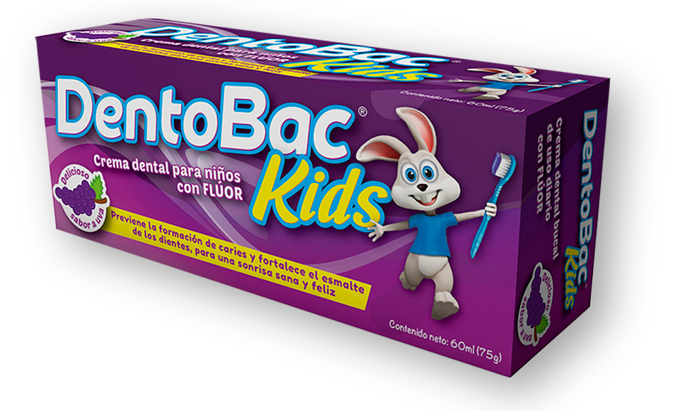Dentobac Kids presentacuón de 60ml